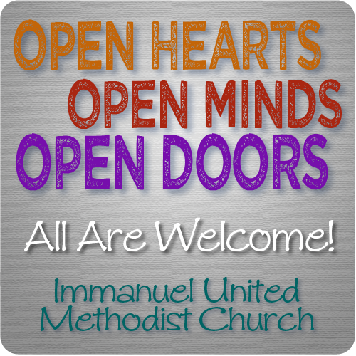 All are welcome at Immanuel United Methodist Church, Eastpointe, Michigan